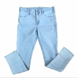 &Denim [H&M] Light Blue Skinny Ankle Jeans 31